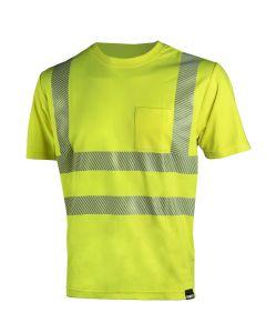 DIMEX 4338+ turva T-paita keltainen