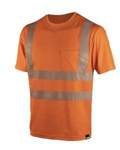 DIMEX 4338R+ turva T-paita oranssi